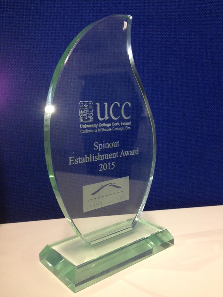 UCC Spinout Award 2015